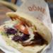 Donner Kebab in Sandwich Wrap